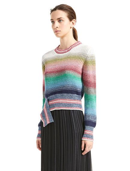 Degrade Striped Sweater