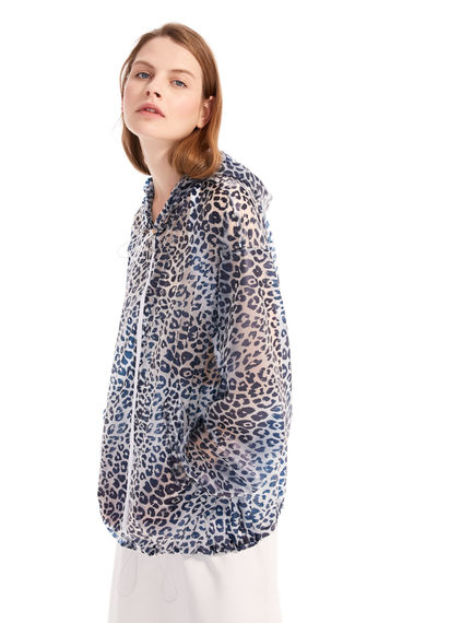 Animal Print Waterproof Bomber Sportmax