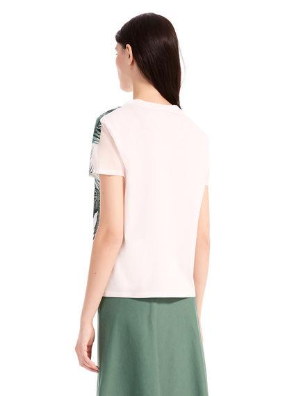 Hibiscus Silk & Cotton T-Shirt