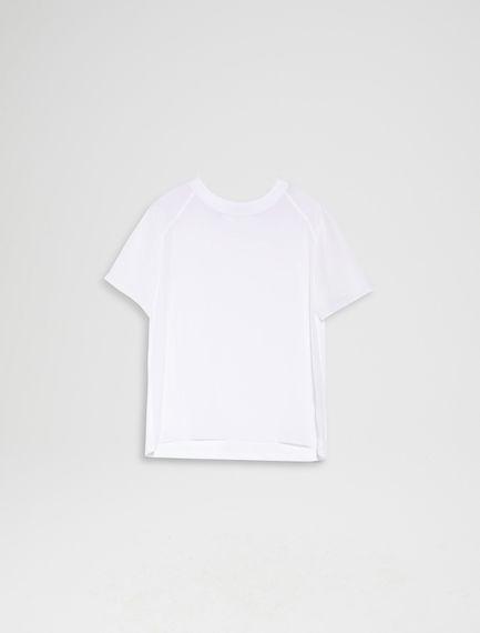 Silk & Cotton T-shirt