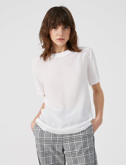 Silk & Cotton T-shirt Sportmax