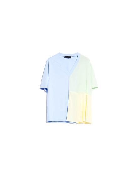 Watercolour-effect T-Shirt Sportmax