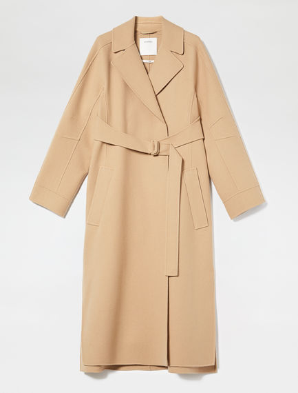 Streamlined Double Cashmere Coat