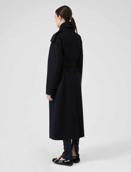Felted Cashmere Trench Coat Sportmax