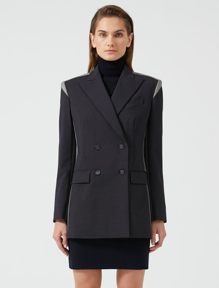 Two-Tone Tailored Blazer Sportmax