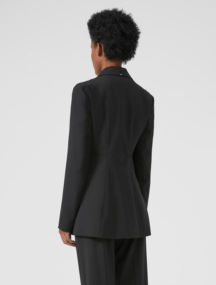 Reconstructed Wool Blazer