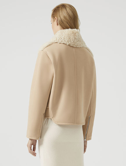 Sheepskin Aviator Jacket