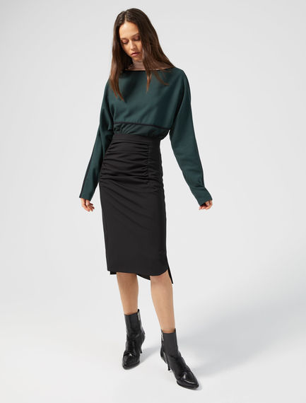Ruched Pencil Skirt Sportmax