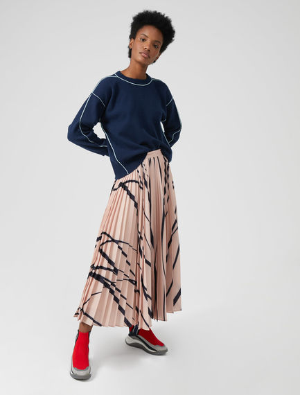Colourbeam Pleated Skirt Sportmax