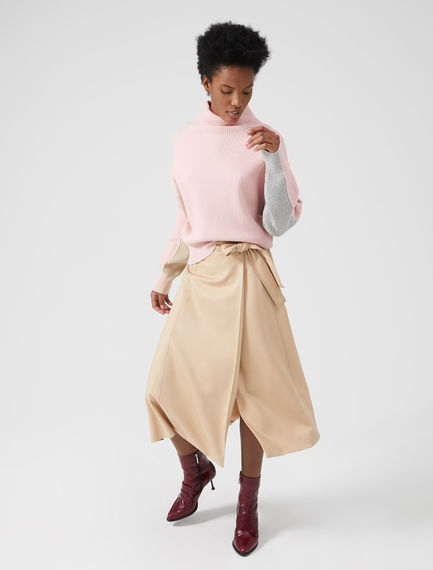 Aerodynamic Wrap Skirt Sportmax