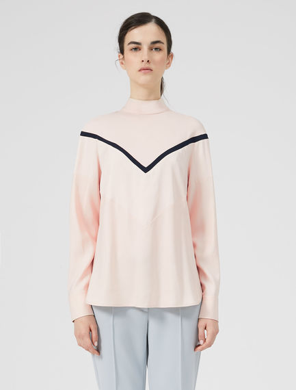 Long-Sleeve Fencing Blouse Sportmax