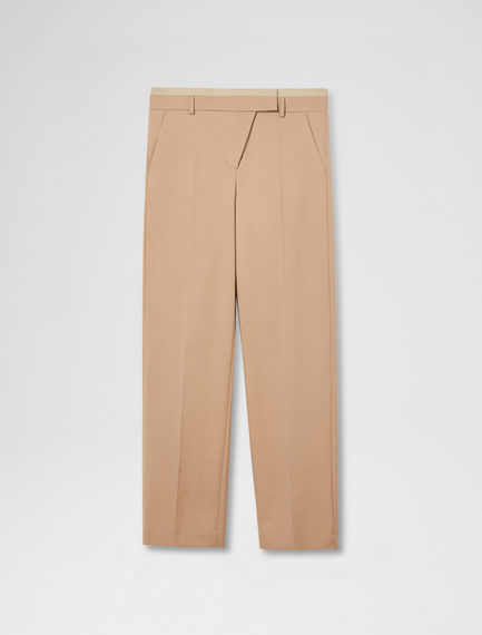 Shifted Zip Trousers