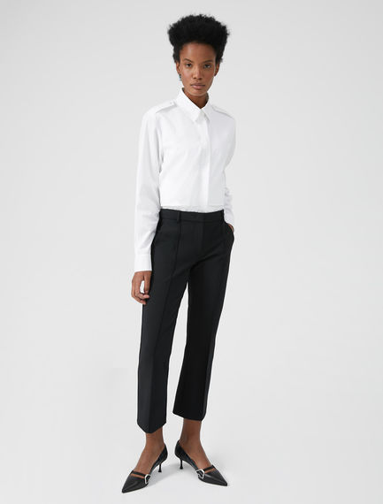 Tailored Kick-flare Trousers