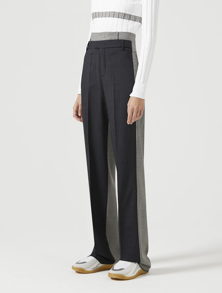 Fluid-Fit Pinstripe Trousers