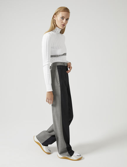 Fluid-Fit Pinstripe Trousers Sportmax