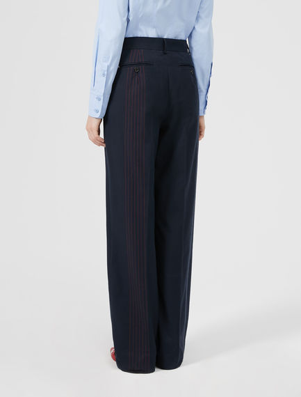Graphic Stripe Trousers