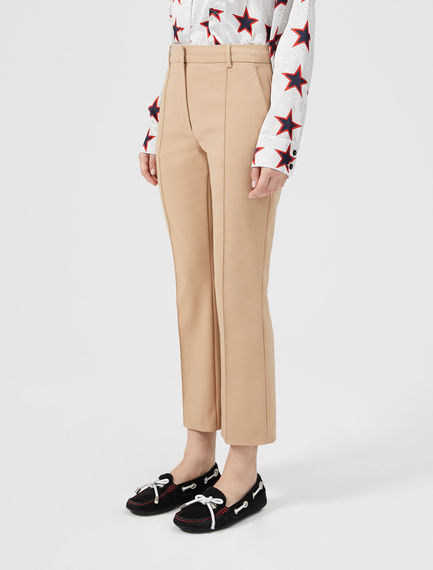Cotton Kick-flare Trousers Sportmax