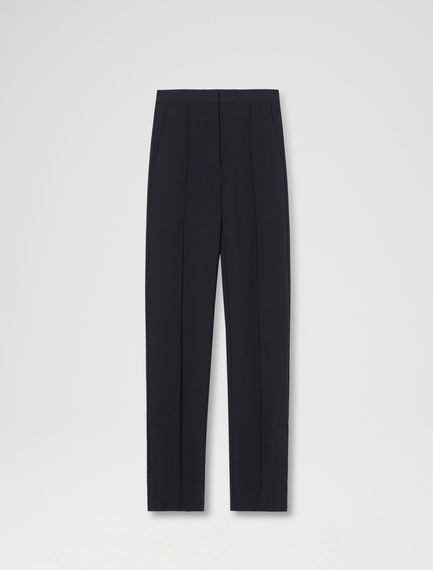 Button-detail Cigarette Trousers