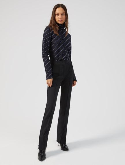Button-detail Cigarette Trousers Sportmax