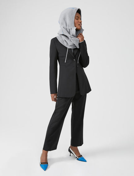 Buckled Wool Trousers Sportmax