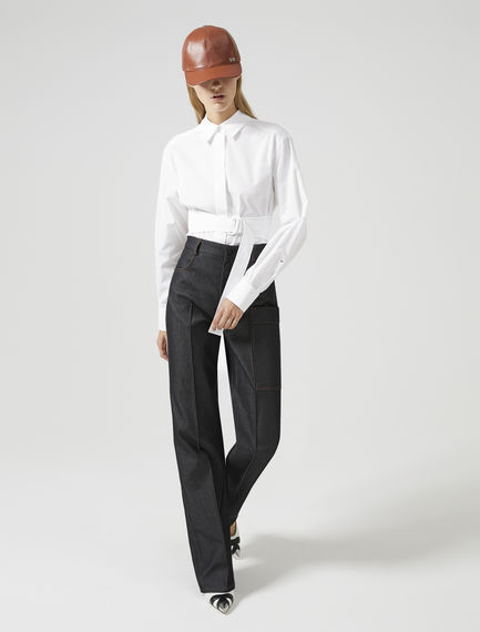 Sartorial Wide Leg Trousers