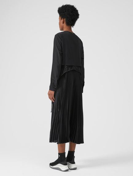 Performance Three-Layer Silk Dress Sportmax