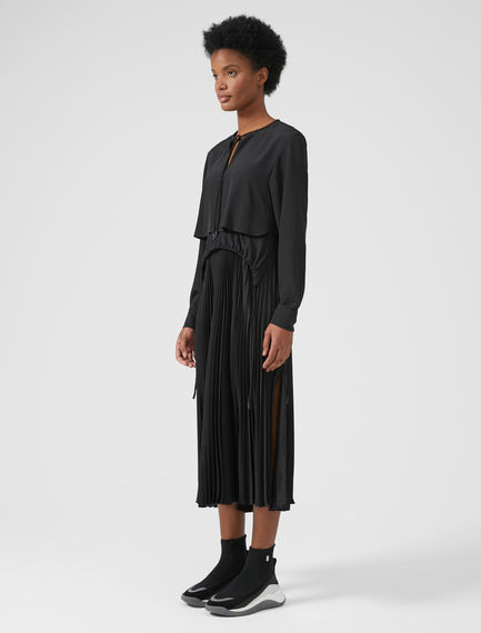 Performance Three-Layer Silk Dress