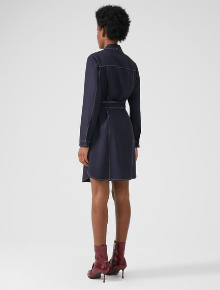 Gabardina Western Shirtdress