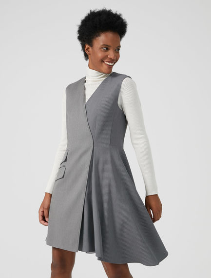 Hybrid Wrap Dress Sportmax
