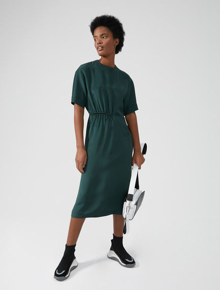 Silk Crêpe de Chine T-shirt Dress