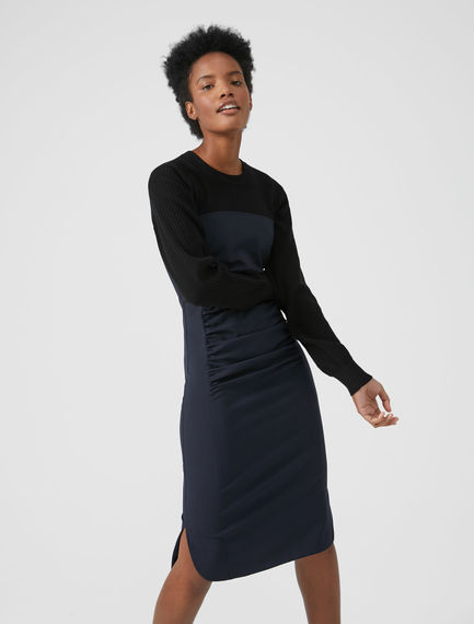 Fitted Ruched Dress