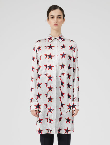 Star Print Painters' Shirt