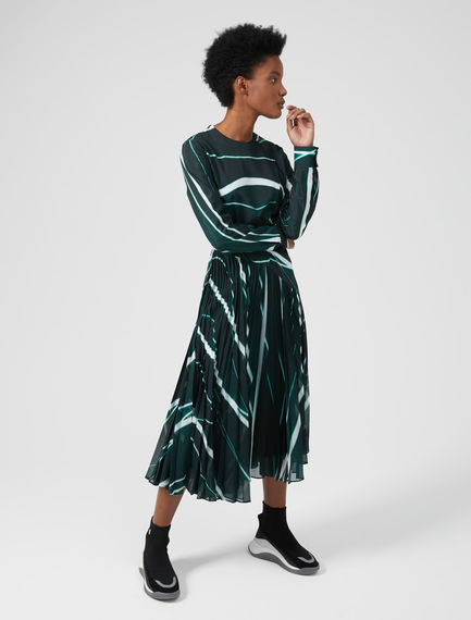 Colourbeam Pleat Dress Sportmax
