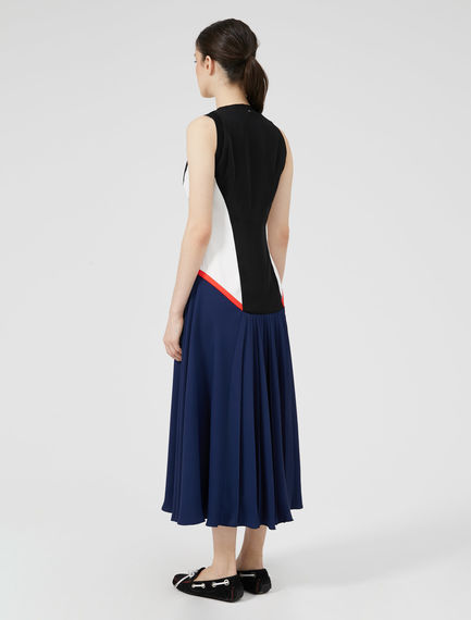 Colour Block Athletic Dress Sportmax