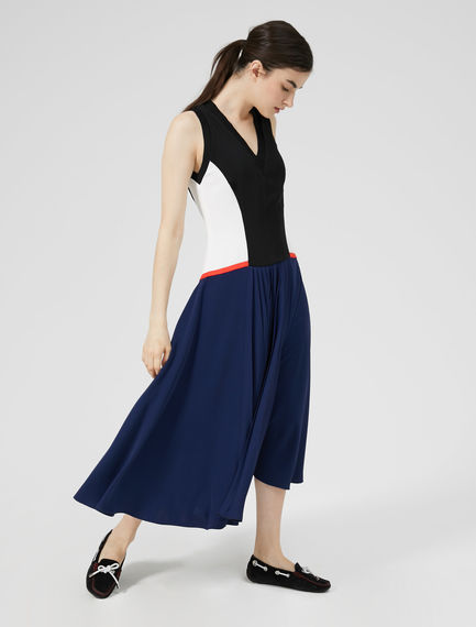 Colour Block Athletic Dress