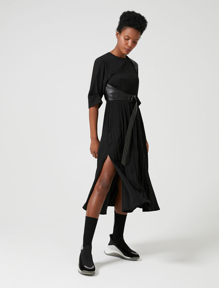 Flowing Shoulder-detail Dress Sportmax