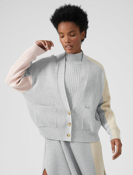 Colour-block Pastel Cardigan Sportmax