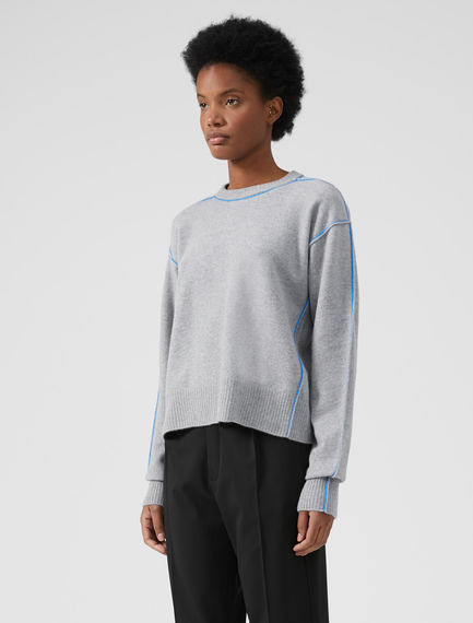 Technical Trim Angora Sweater Sportmax