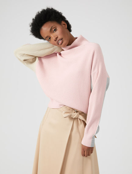 Colour-block Collegiate Sweater Sportmax