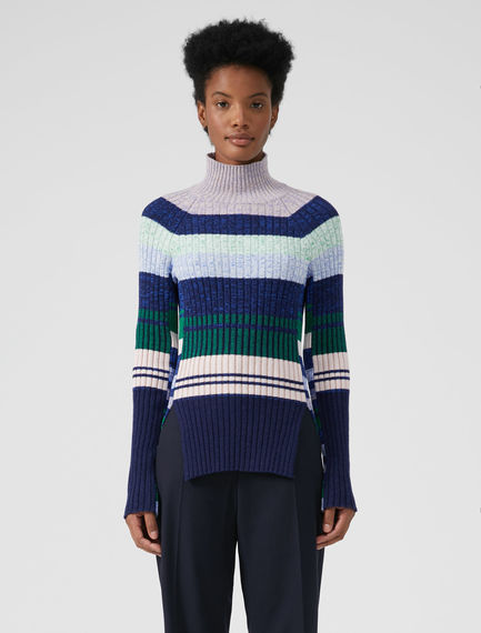 Multi-stripe Tetris Sweater Sportmax