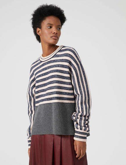 Dynamic Stripe Cashmere Sweater Sportmax