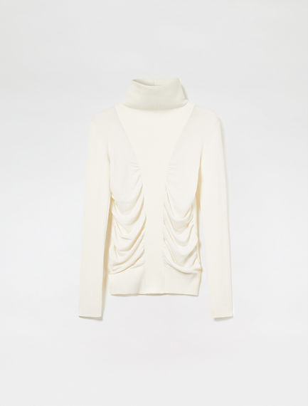 Gauzy Angora Wool Sweater