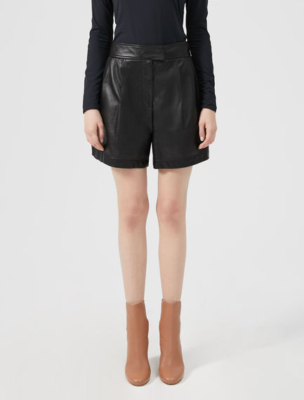 Nappa Leather Shorts