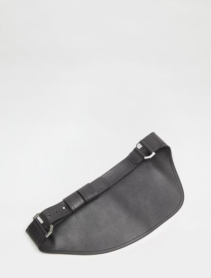 Streamlined Calfskin Belt Bag