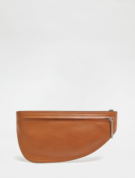 Streamlined Calfskin Belt Bag Sportmax