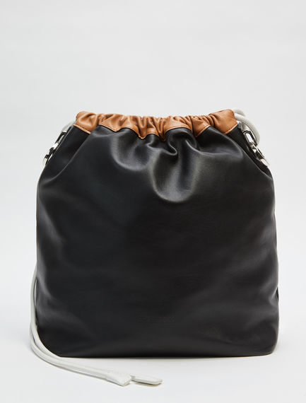 Multi-Way Nappa Leather Sports Bag