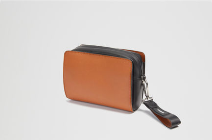 Colour-block Crossbody Bag