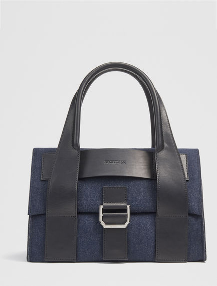 Fold-top Felted Bag Sportmax