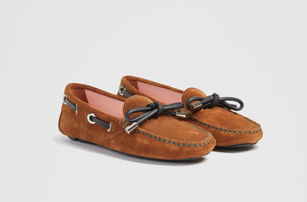 Crust Calfskin Deck Shoe