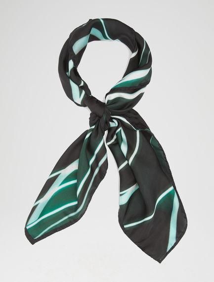 Lasered Silk Twill Scarf Sportmax